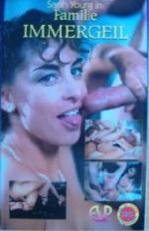 Sarah Young - Familie Immergeil VHS-Video Image