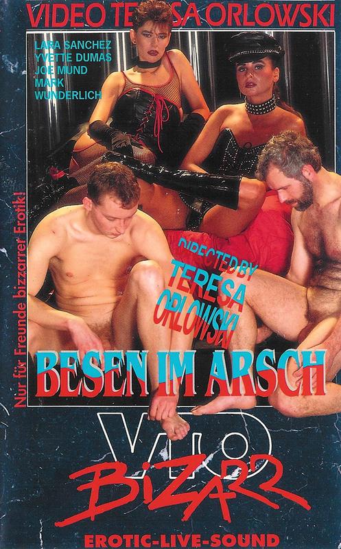 Besen im Arsch - Bizarr VHS-Video Image
