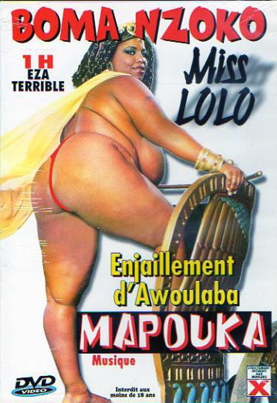 Boma Nzoko Miss Lolo DVD Image