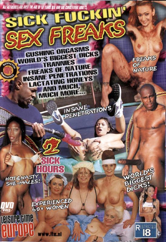 Sick Fuckin' Sex Freaks DVD Image