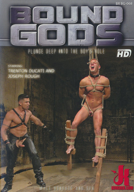 Bound Gods - Plunge Deep Into the Boy's Hole Gay DVD Image
